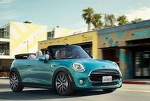 MINI CONVERTIBLE / The perfect catalyst for opening yourself up to all life has to offer. The MINI Convertible improves on its predecessor with BMW-engineered performance, a more spacious, high-end interior, and – as always – unlimited headroom.