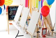 Art Party Ideas / by Sassy Sisters