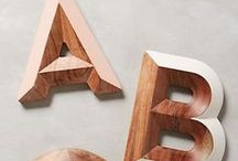 Type and Fonts and Things / by Lisa Lowe