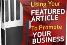 Guides and Dowloads / Everything and Anything about the custom article plaques business.  Tips on framing, How to get articles published,  Marketing Your Good Press and lots lots more.   / by In The News, Inc.