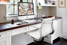 |  Office & Craft Room Design  | / Spaces that ignite and inspire creativity / by Simone @ Simply Neat & Clean | Professional Organizing