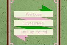 Giveaways / Check here for great giveaways! / by Emilee @ Pea of Sweetness