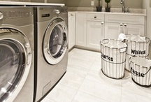 |  Laundry Spaces  | / by Simone @ Simply Neat & Clean | Professional Organizing