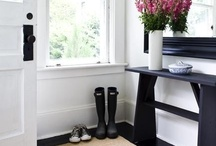 |  Entryways & Hallways  | / by Simone @ Simply Neat & Clean | Professional Organizing