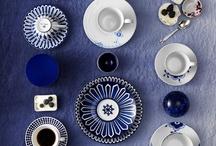 Blue dinner