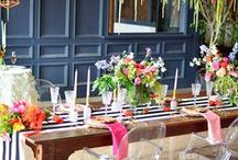 Party Inspiration / Party ideas, decor, styles, invitations, plans