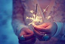 Sparkles / by Mirika Bideganeta