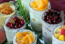 Rise & Shine: The Art of Breakfast / Momma always told you to never skip breakfast! Here's some uber healthy options.