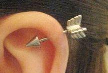 Ear Piercing Ideas / by Jennifer Hung