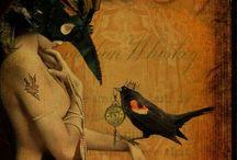 Crows and ravens ♠️ / Spirit / by Mirika Bideganeta