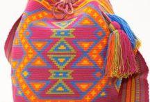 Crochet mochilla wayuu bags