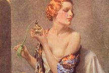 Vintage perfume / The scents of the past