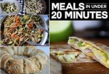 Dinners / Life can be crazy!  Don't give up healthy, homemade dinners just because your family is busy!  Here are some great recipes to feed your family during the chaos of life!