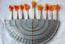 Hanukkah / Fun crafts, recipes, and decorations for Hanukkah.