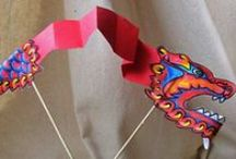 Chinese New Year / Fun activities and food to teach your children about Chinese New Year.