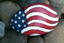 4th of July / Enjoy Independence Day with crafts, activities and patriotic food!