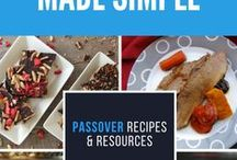 Passover Recipes / Modern and traditional recipes for Passover (Pesach)