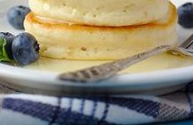 "Breakfast Yumminess / ""All happiness depends on a leisurely breakfast."" ~John Gunther"