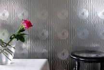 Silver Metallic Wall Ideas / by paroliro barbara