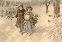 Vintage Christmas Cards&Photo's