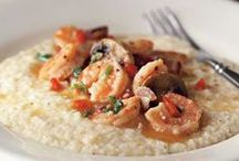 Eat BR - Shrimp / Shrimp are a Southern delicacy that come in all sizes, but always pack a powerful punch to the taste buds. Whether you eat your shrimp raw, boiled, with cocktail sauce or in a pasta dish, you can find it all right here.