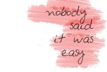 Words / by Bailey Gardner