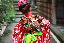 Japanese dolls & Kimono Children / kimokame.com  / by Kimo Kame