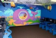 Children's Themed Ministry Environments / Ideas for visual appearance of your children's areas. Remodeling ideas. Ideas for walls. Themed kid's zones. If you like these pins try out Children's Themed Bible Times board http://www.pinterest.com/jobones7/childrens-themed-bible-times-area/ & http://www.pinterest.com/jobones7/childrens-themed-temporary-ministry-environments/