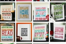 Fonts & Printables / by Jamie Strand