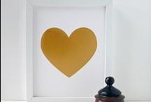Hearts / Hearts everywhere :) Corazones en todo lugar // I just love them