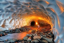 Caves, Caverns, Grottoes and Tunnels / by Aida Lopez Fortier