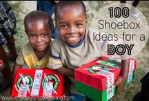 Operation Christmas Child / Ideas for packing shoe boxes for Operation Christmas  Child
