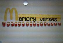 Bible Teaching Memory Verses / Ideas for teaching memory verses and books of the Bible