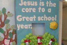 Children's Bulletin boards & Doors & Walls / Christian bulletin boards for children