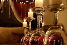 Winter/Christmas Decorating / Decorating ideas for Christmas and the winter time. Table center pieces, doors, windows, trees and more