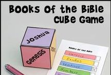 Bible Teaching the Books of the Bible / Ideas for helping children to learn the books of the Bible and to understand the different types of books in the Bible.