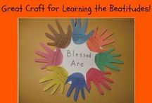 Bible -NT - Sermon on the Mount / Crafts, visuals, activities, teaching ideas, & anything to do with the Sermon on the Mount. For use with children in Sunday School, children's church and more.