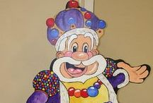 Kid's Events - Giant Candy Land Party / Games, snacks and decorations for a Life size version of the game Candy Land.