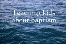 Discipleship / Ideas for discipling children in the Christian faith. Includes teaching about babtism, communion, prayer and other spiritual disciplines. Discipleship curriculum and books.