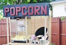 Personal - Hand-crafted Caramel Corn Shop / Ideas for starting my own business selling caramel popcorn using a home license and selling at farmer's markets and shows.