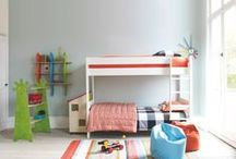Kids / Give your little ones a bright and coordinated space to play and rest - from durable bunk beds for kids to mix-n-match bedding and colourful beanbags - our Habitat children's range has everything they need.