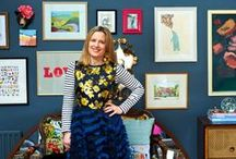Sophie Robinson #HabitatVoyeur / Take a tour of interior stylist Sophie Robinson's home. You can see more from today's coolest habitats on our website www.habitat.co.uk