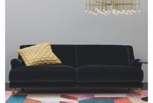 #Trending: Velvet / Sumptuously soft and oh-so-luxurious, it's no surprise velvet is our go-to fabric for autumn-winter. And this year, it's not only our party wardrobes benefitting from an influx of velvet, but our abodes too.