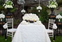 """Inspiration : White + Creme + Ivory / Exploring the """"white"""" hue in the wedding."""