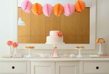 Hot Pink & Tangerine Wedding / by Blossoms Atlanta