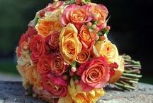 Pink Yellow & Orange Wedding