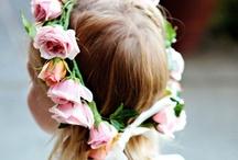 Pretty Flower Girls