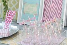 Party Inspiration / All things related to parties. Party ideas, planning, boy or girl birthday party, baby showers, bridal shower, anniversary, wedding, party decorations, party decor, party food, cakes, desserts, and drinks.