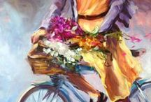 Bikes and Flowers / by Beth Charles Art & Studios
