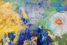 Floral Abstract / by Beth Charles Art & Studios
